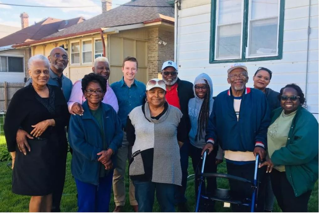 Group photo of seniors